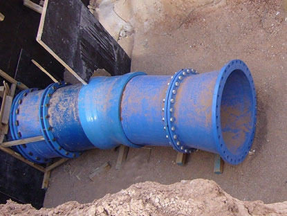 Cuamba Water Supply Project Mozambique DN300-DN600 3892MT